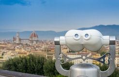 Firenze from above Royalty Free Stock Photos