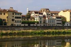 Firenze afer Regen Stockfotos