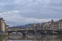 Firenze bagnata Immagine Stock Libera da Diritti