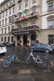 Firenze bagnata Immagini Stock Libere da Diritti