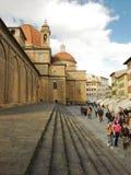Firenze basilic s.lorenzo Royaltyfria Bilder
