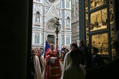 Firenze, battistero e cattedrale Fotografie Stock
