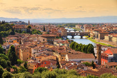 Firenze cityscape Royalty Free Stock Images