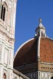 Firenze, cupola Fotografia Stock Libera da Diritti