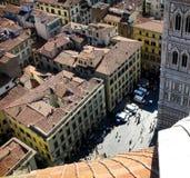 Firenze dal Duomo Fotografia Stock