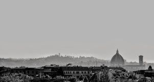 Firenze dal giardino di Orticultura immagini stock