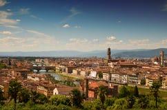 Firenze dal terrazzo di Michelle Angelo Immagine Stock Libera da Diritti