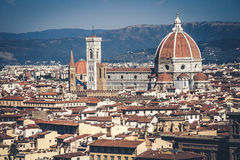 Firenze domkyrka Arkivfoto