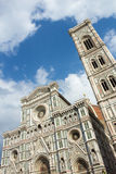 Firenze Duomo. Vertical composition of Firenze Duomo in a cloudy day Royalty Free Stock Photo
