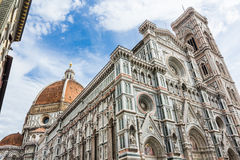 Firenze Duomo. In a sunny day. Italy Royalty Free Stock Photo
