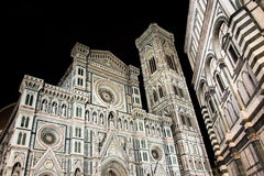 Firenze duomo at night Stock Photo