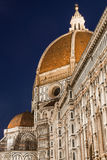 Firenze duomo at night Stock Image