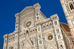 Firenze duomo at twilight Stock Images