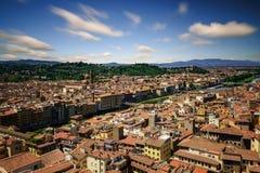 Firenze durante il giorno di estate, Firenze, Italia Immagine Stock Libera da Diritti