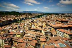 Firenze durante il giorno di estate, Firenze, Italia Fotografie Stock
