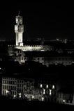 Firenze entro la notte Fotografia Stock Libera da Diritti