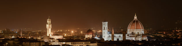 Firenze - Florence by night Royalty Free Stock Photography