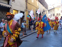 Firenze, historical Parade Royalty Free Stock Images