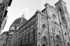 Firenze, il duomo Immagini Stock Libere da Diritti