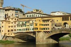 Firenze, il ponticello famoso Immagine Stock Libera da Diritti