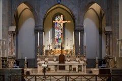 Firenze - interno del duomo. Fotografie Stock