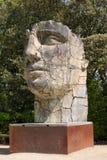 Firenze, Italia - 23 aprile 2018: Statua del bronzo di Tindaro Screpolato fotografie stock libere da diritti