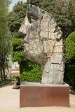 Firenze, Italia - 23 aprile 2018: Statua del bronzo di Tindaro Screpolato fotografia stock