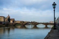 Firenze Italy Curso Fotografia de Stock Royalty Free