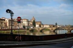 Firenze Italy Curso Imagens de Stock