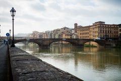 Firenze Italy Curso Imagem de Stock