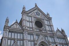 View of Santa Croce church stock photo