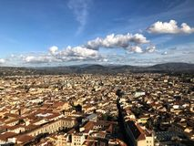 Firenze Italy magic. Enjoy the lovely landscape of Firenze stock photography