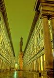 firenze italy uffizi Arkivbild