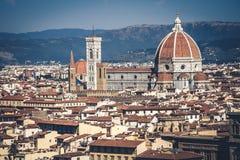 Firenze-Kathedrale Stockfoto