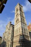 Firenze kopuły wierza (campanille) Fotografia Stock