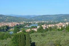 Firenze Landscape Stock Image