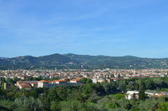 Firenze Landscape. This is a picture of Firenze taken from piazza michellangelo Stock Image