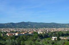 Firenze landskap Fotografering för Bildbyråer