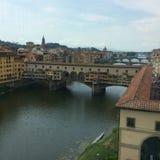 Firenze mosty Zdjęcia Stock