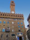 Firenze: Palazo Vecchio immagini stock libere da diritti