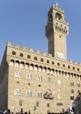Firenze Palazzo Vecchio o Fotografie Stock Libere da Diritti