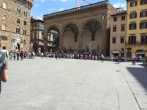 Firenze. Place @ Firenze, Italy royalty free stock images