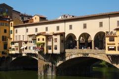 Firenze: Ponte Vecchio Fotografia Stock Libera da Diritti