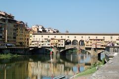 Firenze: Ponte Vecchio Fotografie Stock