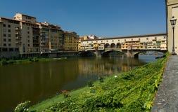 Firenze, Ponte Vecchio, Italia Immagine Stock Libera da Diritti