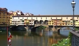Firenze, Ponte Vecchio, Italia Fotografie Stock Libere da Diritti