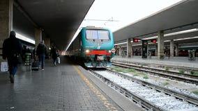Firenze Santa Maria Novella railway station, Florence, Italy, stock video footage