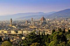 Firenze sikt Fotografering för Bildbyråer