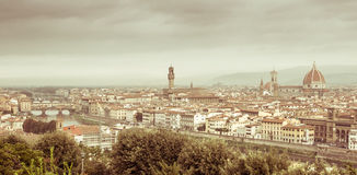 Firenze Skyline Stock Photography