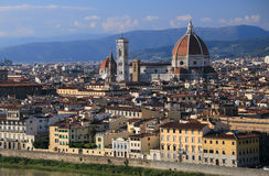 Firenze at Sunset. Royalty Free Stock Photos